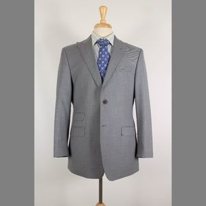 Ralph Lauren 40R Gray Sport Coat B341